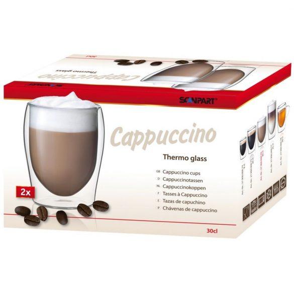 "Scanpart thermo ""Cappuccino"" kávéspohár"