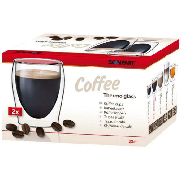 "Scanpart thermo ""Coffee"" kávéspohár"